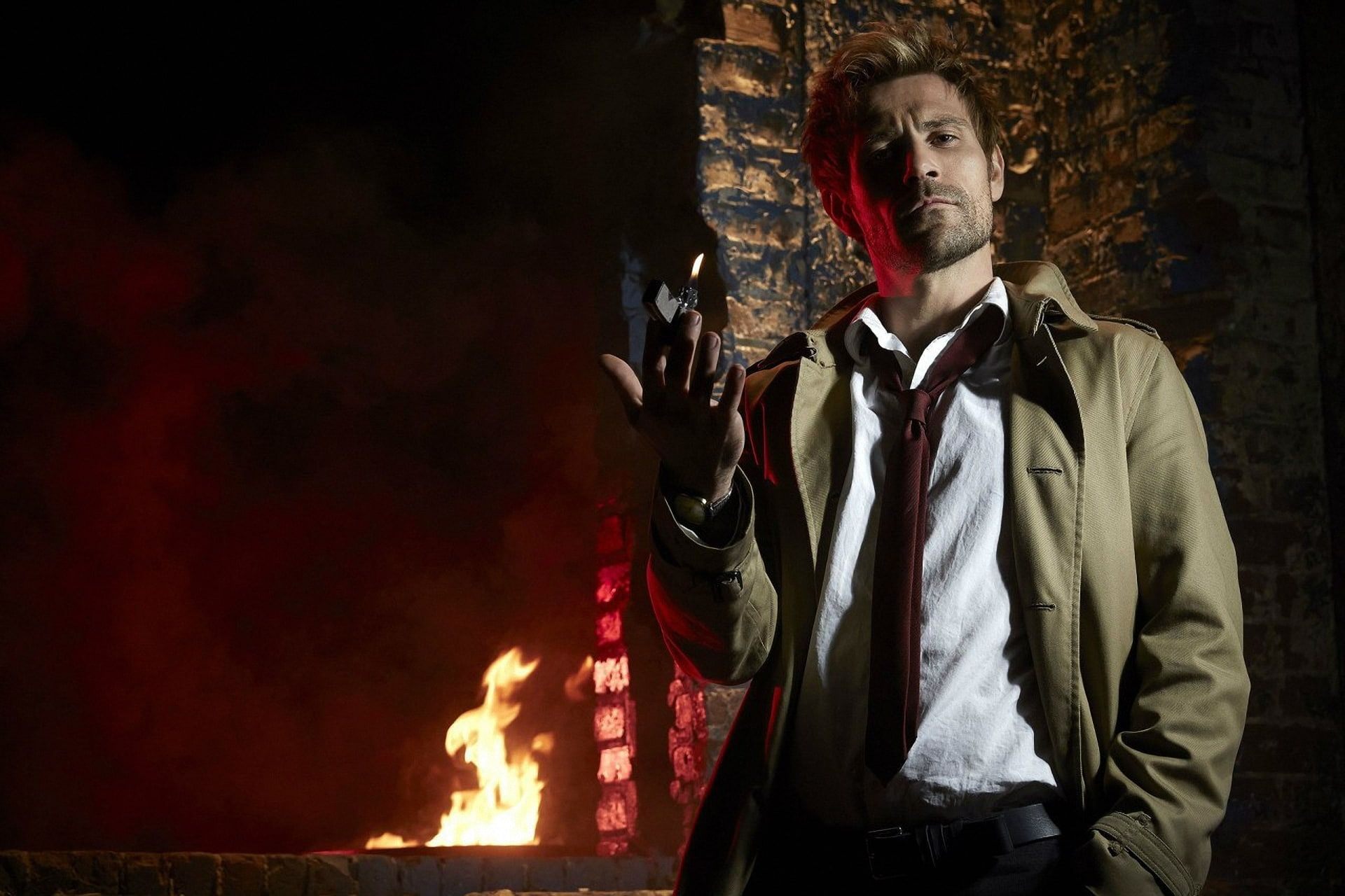 Fire Street Lighter The Series John Constantine Constantine Matt Ryan Matt Ryan 1080p Wallpaper Hd In 2020 Matt Ryan Constantine Matt Ryan Constantine Tv Show