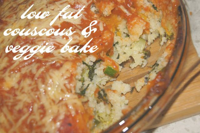 Cous-cous and veggie bake