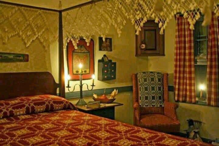 primitive bedroom decor   Decorating Colonial/Primitive Bedrooms ...