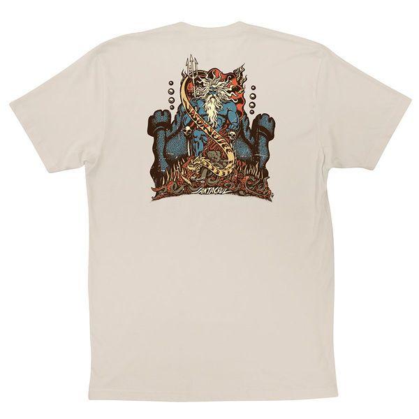 Santa Cruz Skateboards: Tees & Tops: Vintage Neptune S/S T Shirt