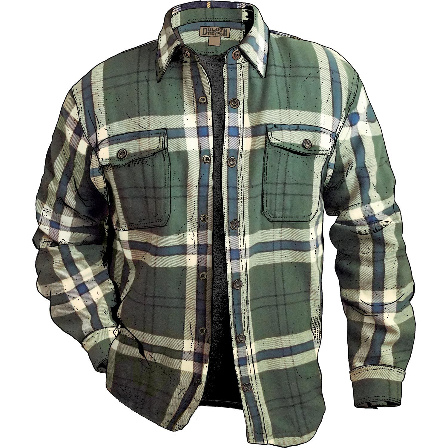 Flannel shirt season  Fleecelined Flannel Shirt Jac is built for real work a thick warm
