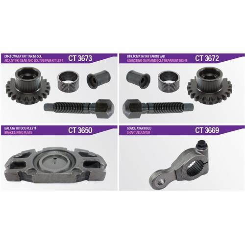 Lining Plates  Kits For  All Kind Of  Meritor Type Brake Caliper For Trucks Buses Vans And Trailer