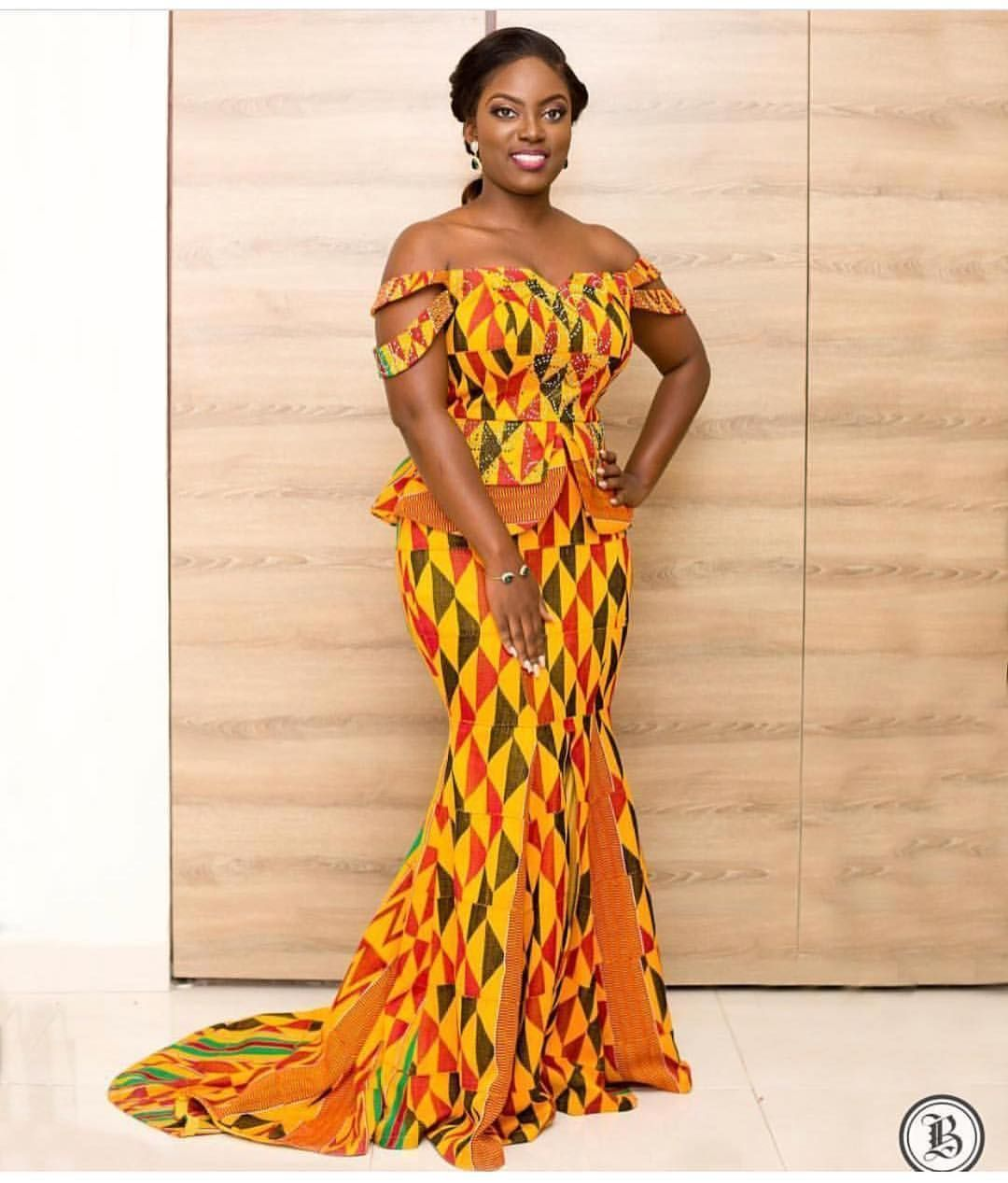 Hottest Kente Styles For Celebrities| Choose Your Designs - MOMO AFRICA