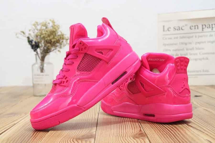 Womens Air Jordan 4 GS Pretty Pink