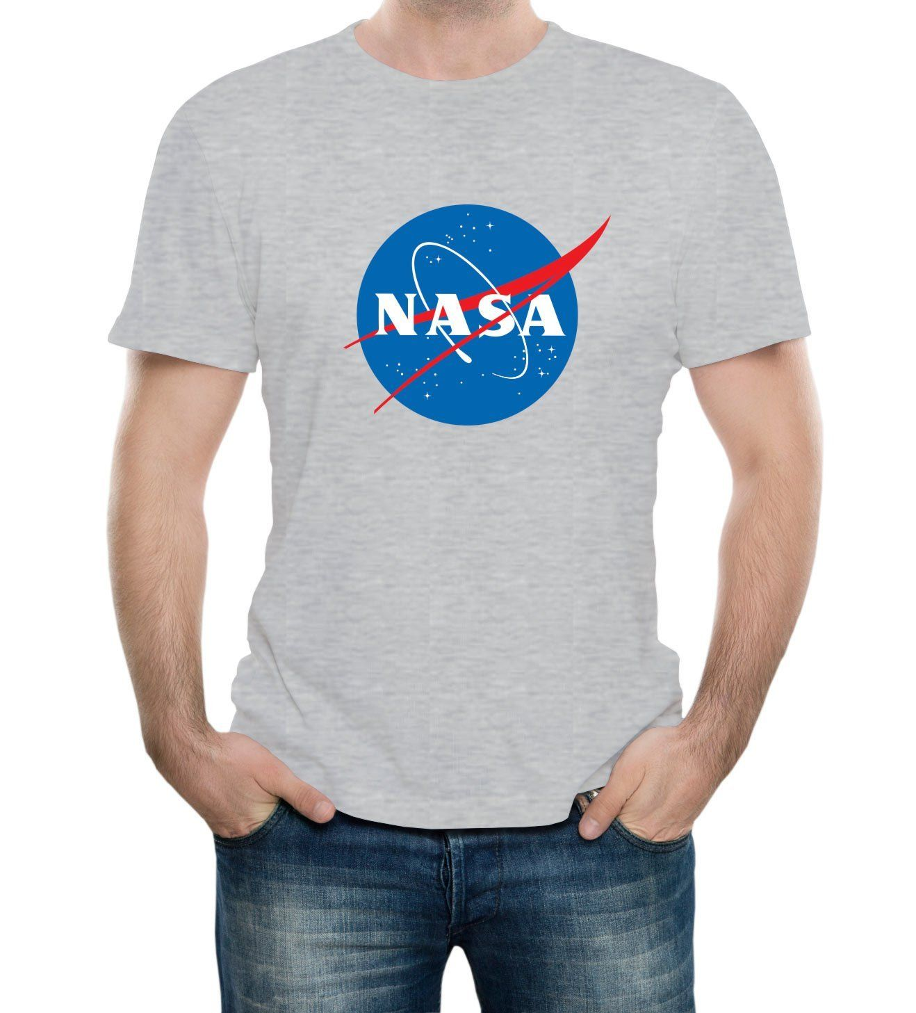 2ce40a0e6114 NASA Space Agency Adult T-Shirt | got it | Shirts, T shirt, Mens tops