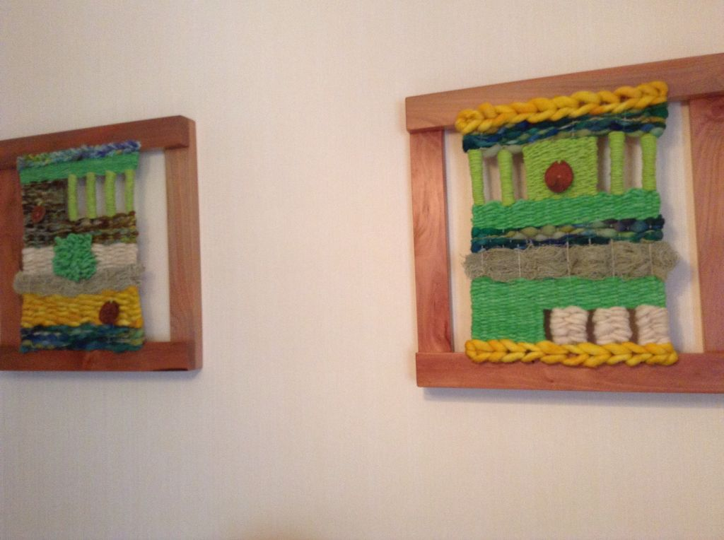 Murales enmarcado | piezas de telar | Pinterest | Murales, Telar y ...