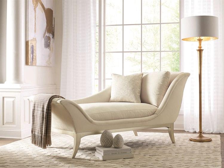 Caracole Compositions Avondale Soft Silver Chaise Lounge | CASC020417071A