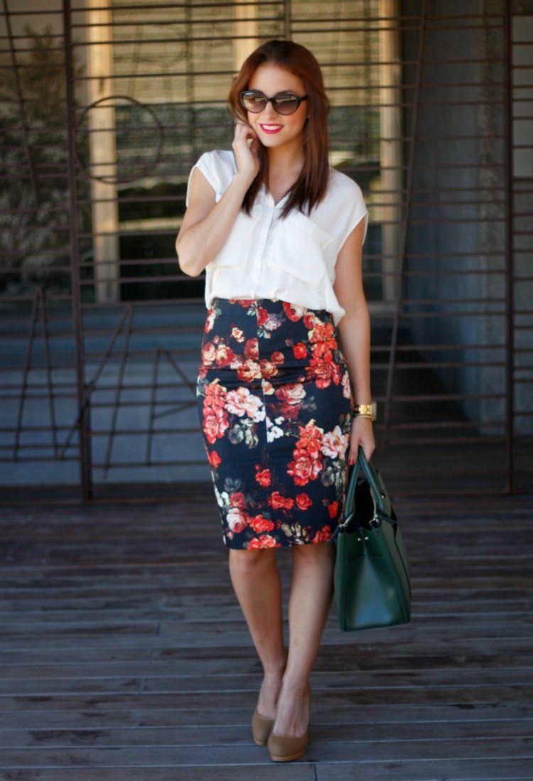 01acc6c70 Trendy Dreams: Falda tubo | Moda | Faldas, Faldas tubo y Look faldas ...