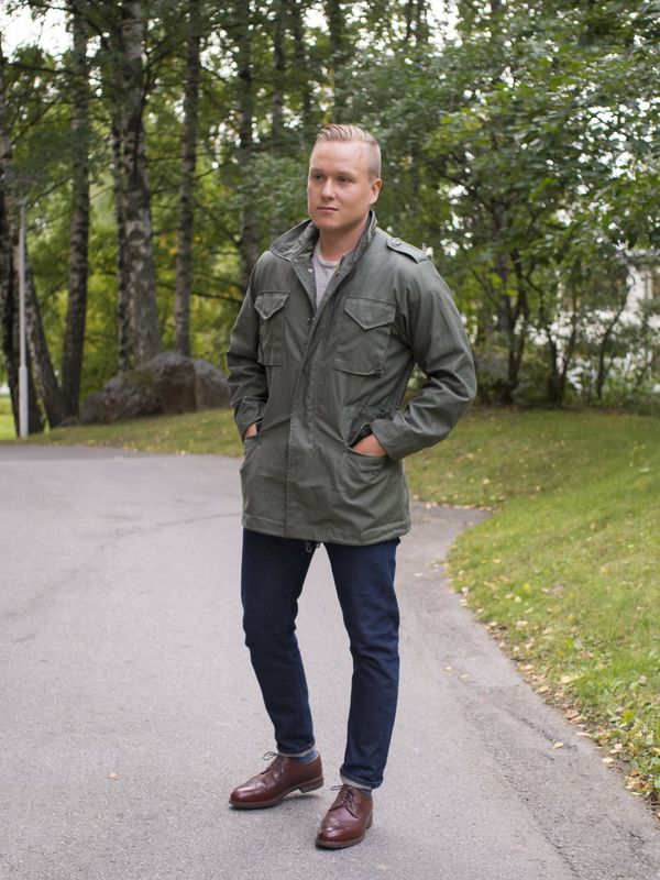 Weekend Look for Fall - The Nordic Fit M65 Jacket, Military Field Jacket,  Menswear 5c7992e3b6f