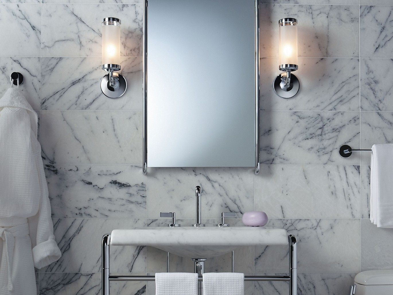 One Mirror By KALLISTA U2013 With Its Soft Curves And Sleek Form, The One Mirror