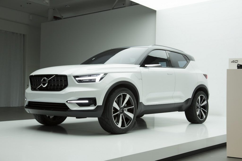 Production Volvo Xc40 Very Close To The Volvo Concept 40 1