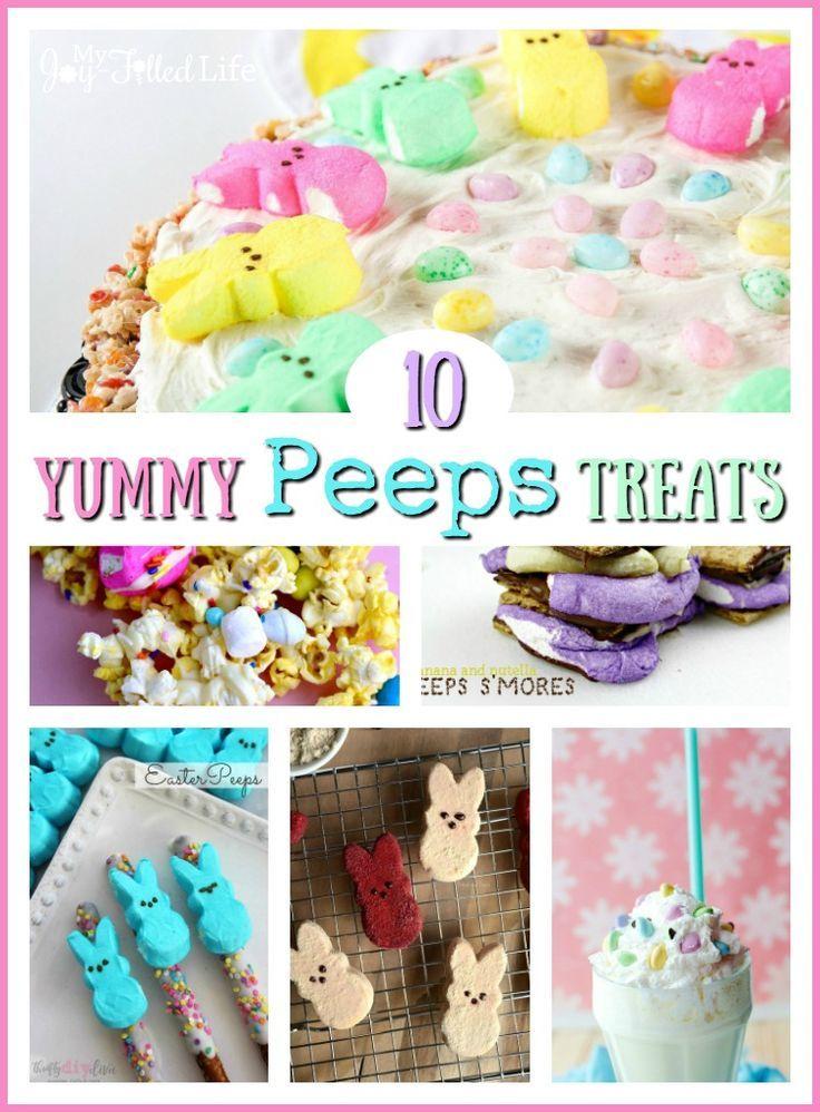 10 Yummy Peeps Treats