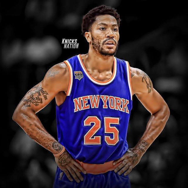 bf27c0794041 Derrick Rose stats this season  17 PPG and 4.4 APG. 🏀🌹