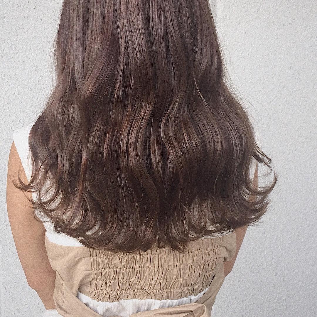 ショコラブラウン 秋色秋髪秋服かわいい 今週予約かなり埋まってき