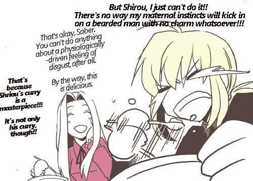 Saberface Laundry Day By Skyregalias English Translated Typeset Fate Stay Night Anime Fate Stay Night Fate