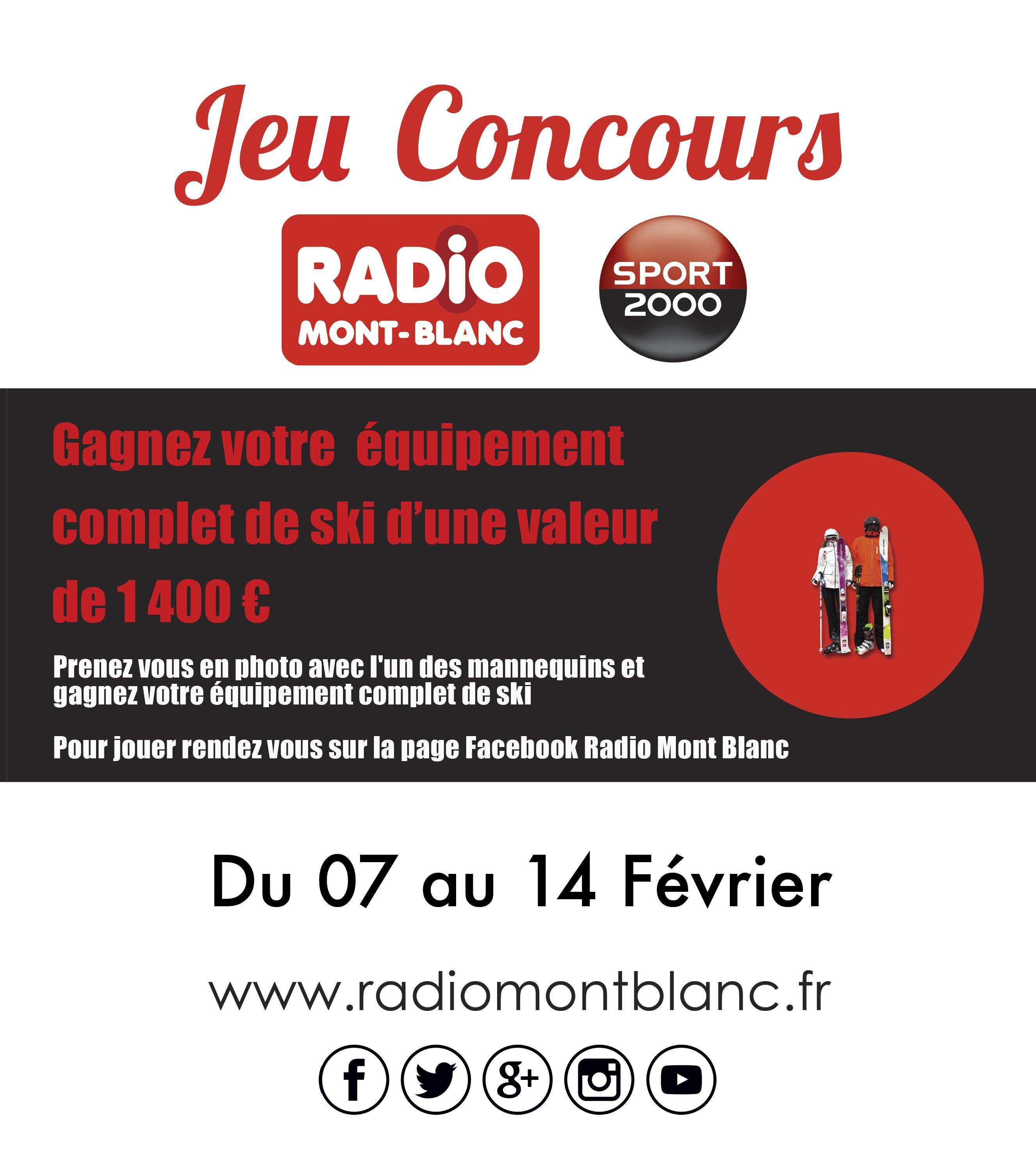 Au Sommet De La Musique Jeu Concours Grand Jeu Concours Magasin Sport