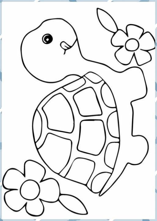 Turtles Malvorlagen