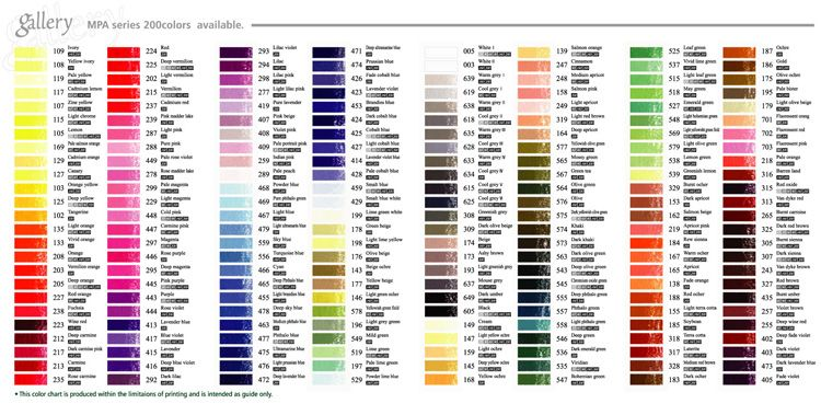 All The Colors In The World Chart Google Search