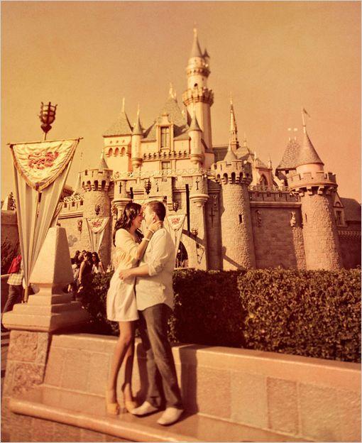 Disneyland Engagement Pics!