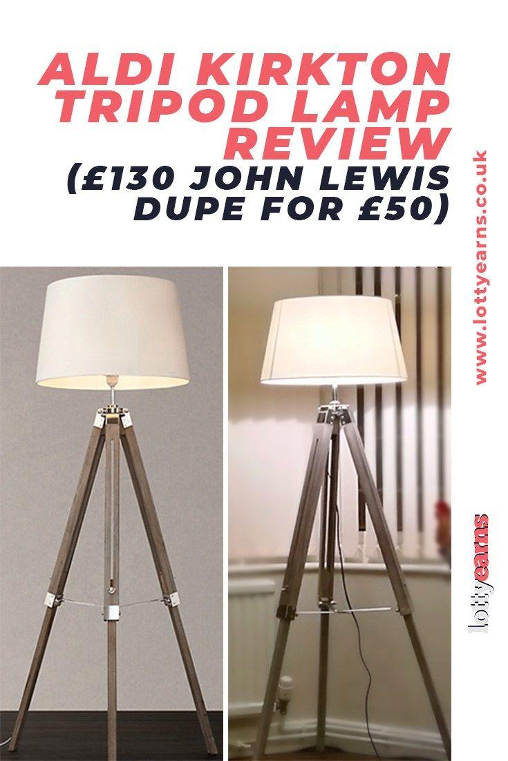 dupe of this popular John Lewis lamp