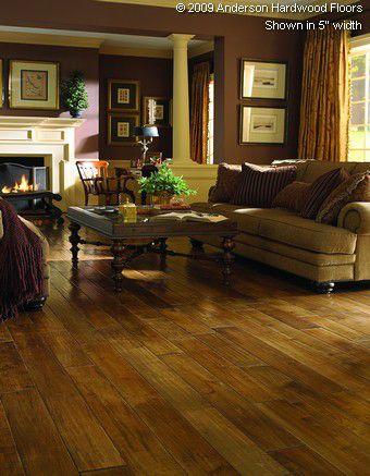 Make polished floors your main statement. Anderson Hardwood Floors - Solid Maple Floor: AA556-27524