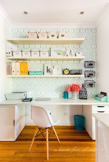 Quilting (and working) in a small space | Office makeover, Small ...