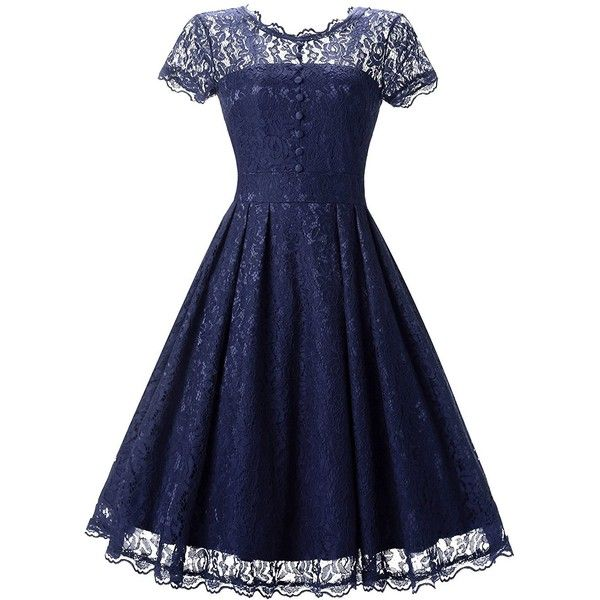 854a1d7e21 Star Finch Retro Floral Lace Prom Dresses Short Homecoming Dresses Cap...  ( 26