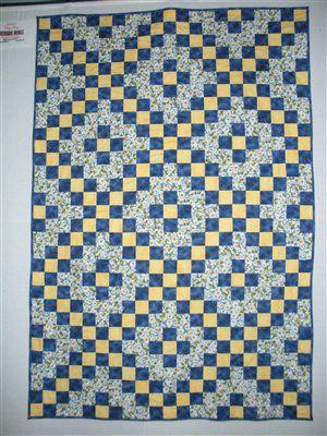 prayer quilt - irish chain