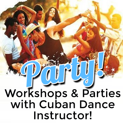 Cuban Dance Workshops & Parties in JHB, PTA, DUR, CPT with Cuban Dance Instructor