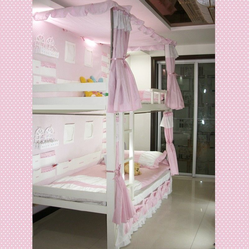 Pin By Shaq From Way Back On Girls Bed Makeover Girls Bunk Beds