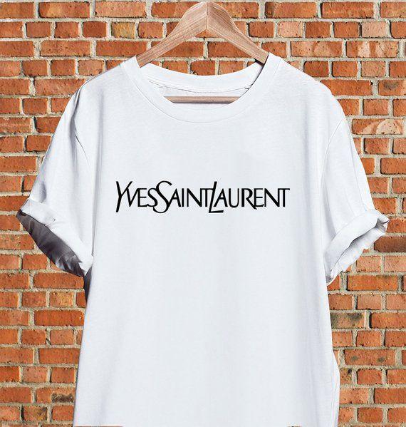 39b81c0f6b304 Saint Laurent Shirt, Yves Saint Laurent shirt, YSL tshirt, Saint Laurent  lips t-shirt, Saint Laurent