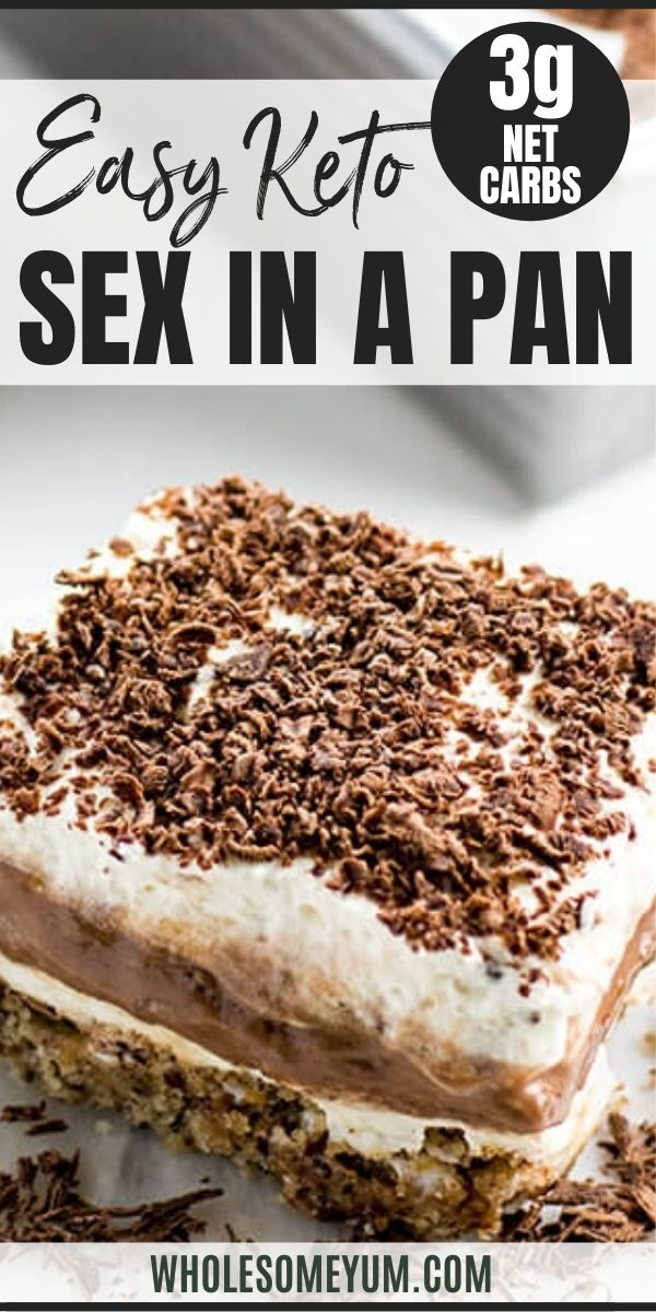 Sex In A Pan Dessert Recipe (Sugar-Free, Low Carb, Gluten-Free)