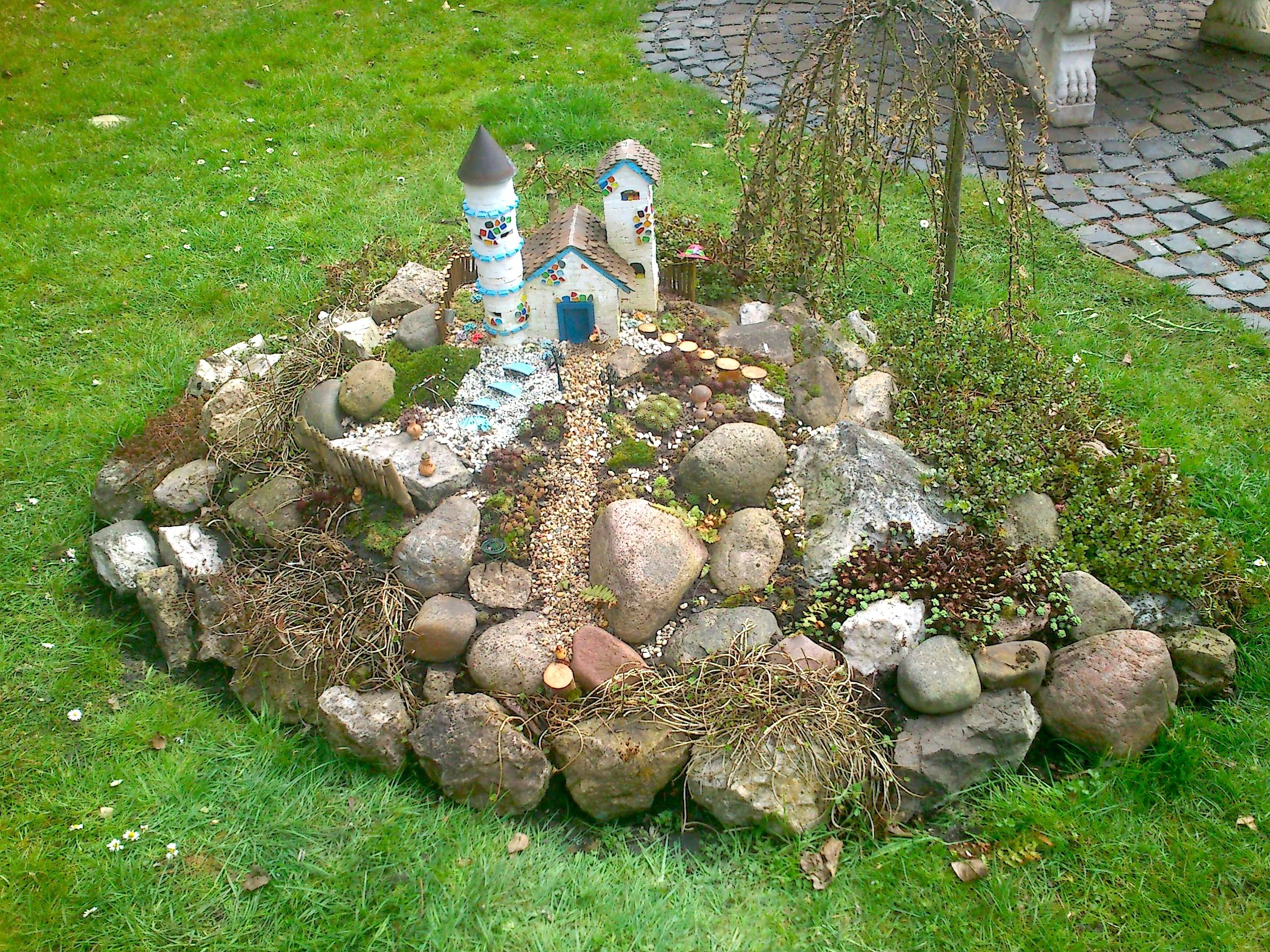 Fairy Garden Das Feen Schloss Ist Aus Teifoc