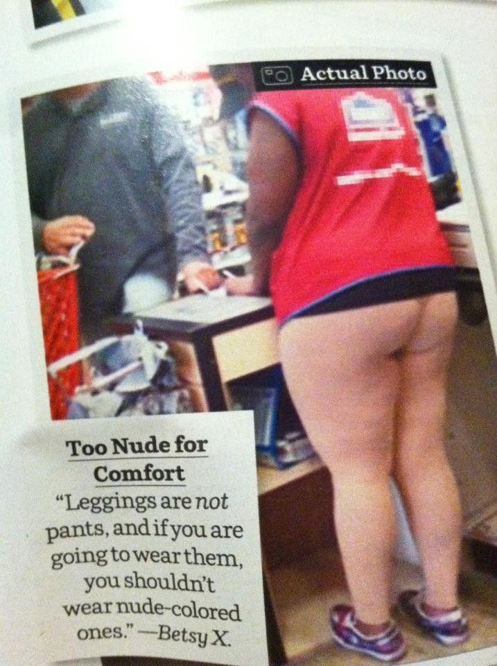 42376b081d496 Never wear skin coloured leggings! | HA! | Leggings funny, Nude ...