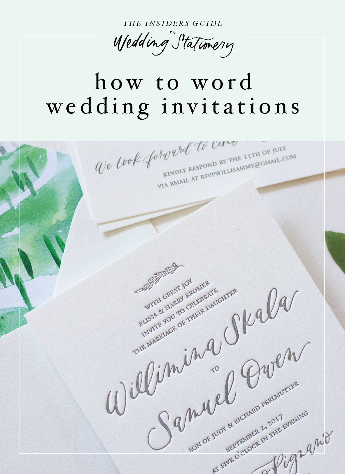 How To Word Your Wedding Invitation Bright Room Studio Bright Wedding Invitations Wedding Invitations Wedding Invitation Wording Casual