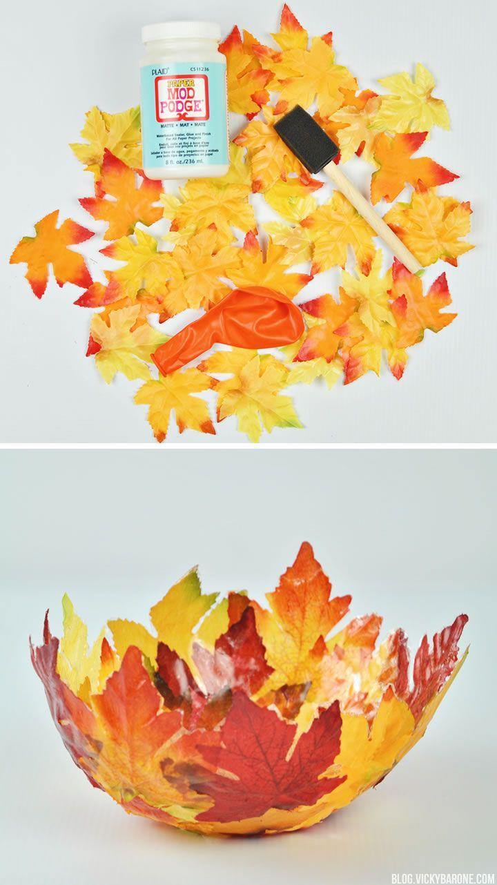Decorative Leaf Bowl Diy Fabric Leaf Bowl  Leaf Bowls Bowls And Leaves