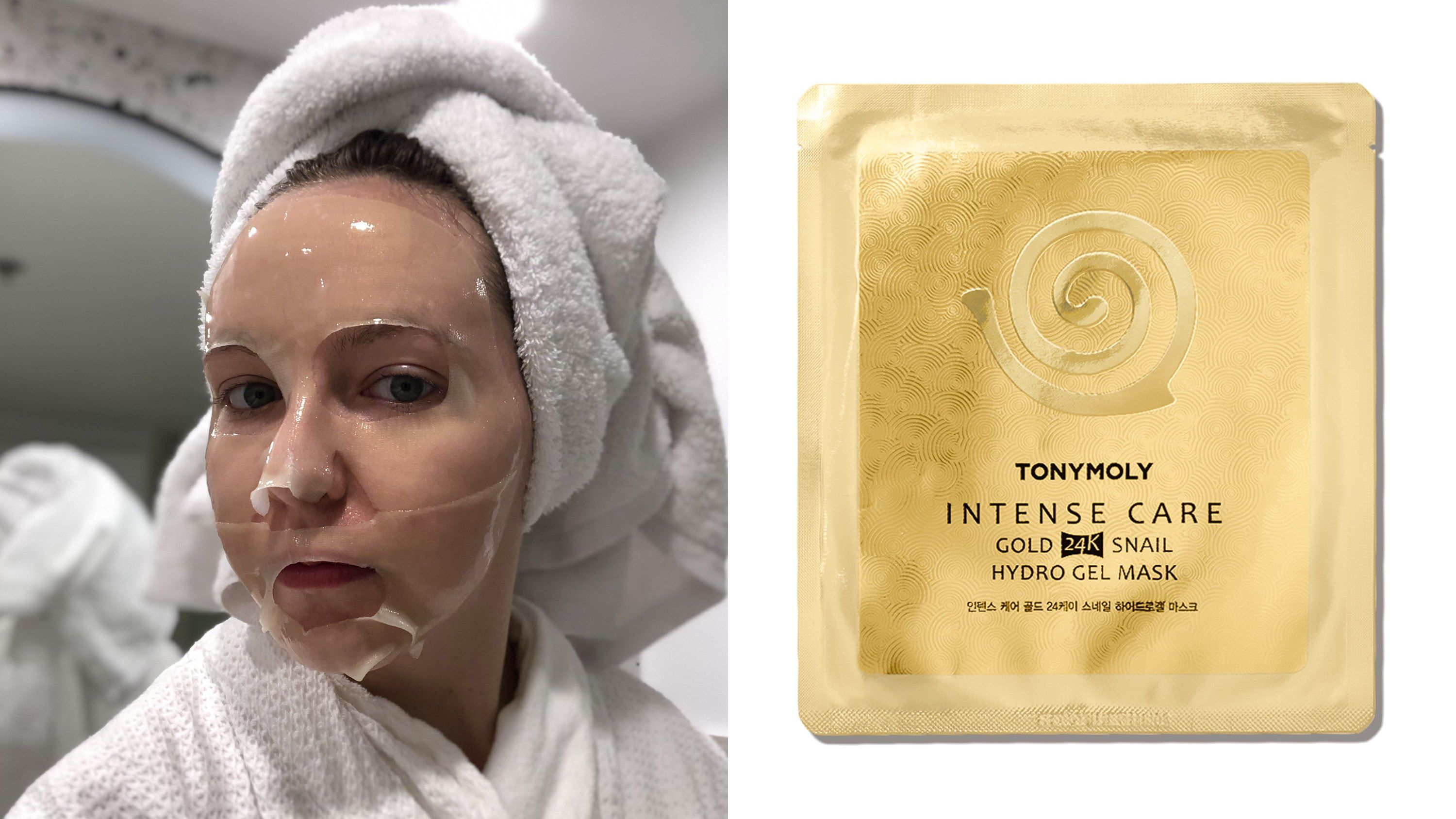This 10 Sheet Mask Is Made With Snail Mucus Gel Mask Skin Calming Skincare Ingredients