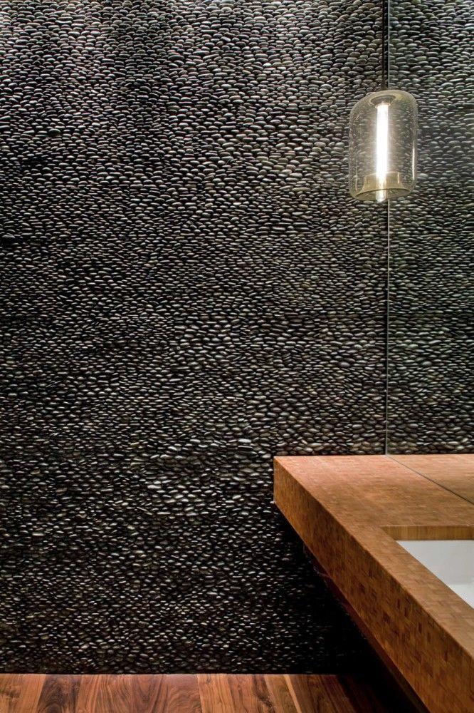 TriBeCa Loft Residence AI Design Corp Stone walls Lofts and