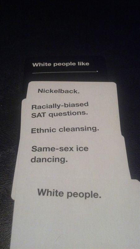 cards against humanity examples pdf
