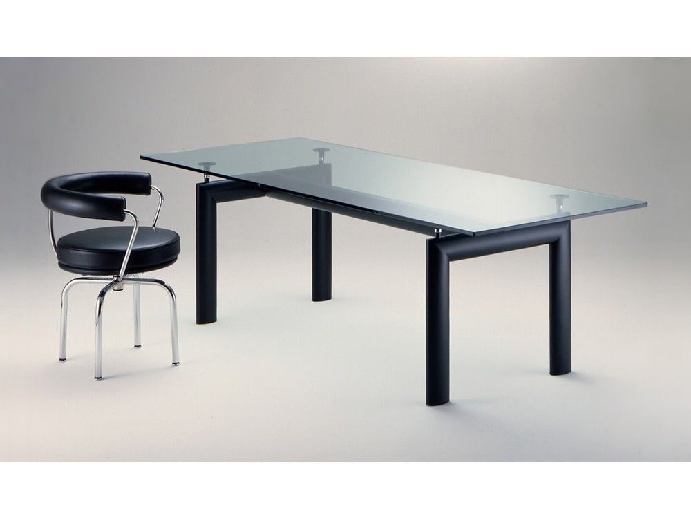Cassina lc table by le corbusier pierre jeanneret charlotte