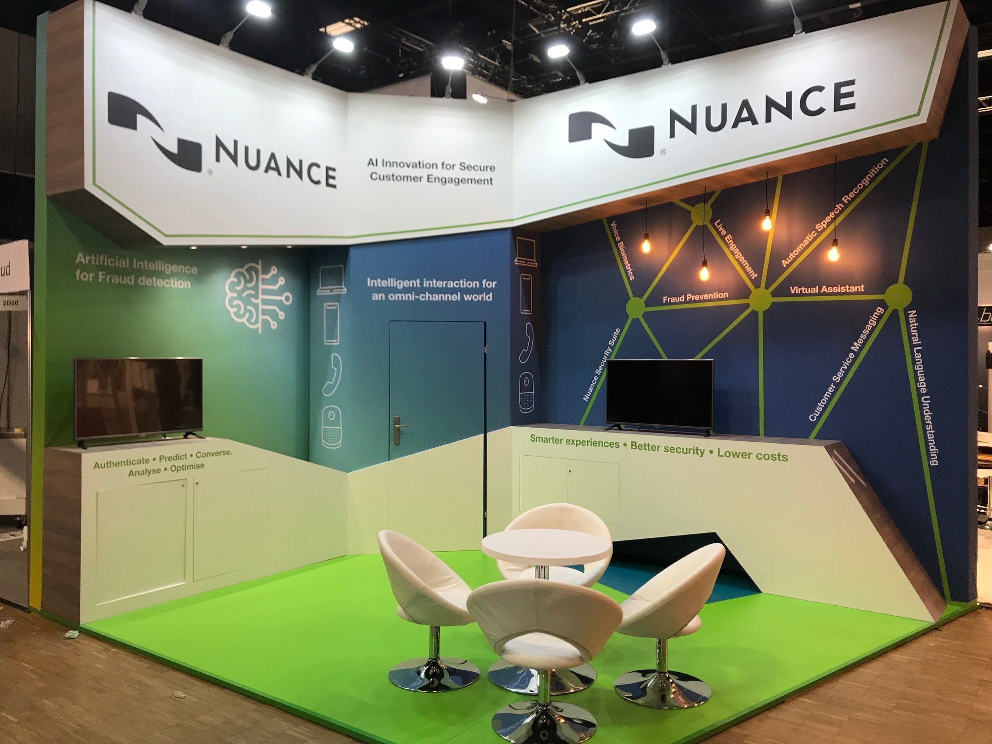 Nuance Ccw 2019 Exhibition Booth Design Booth Design Design