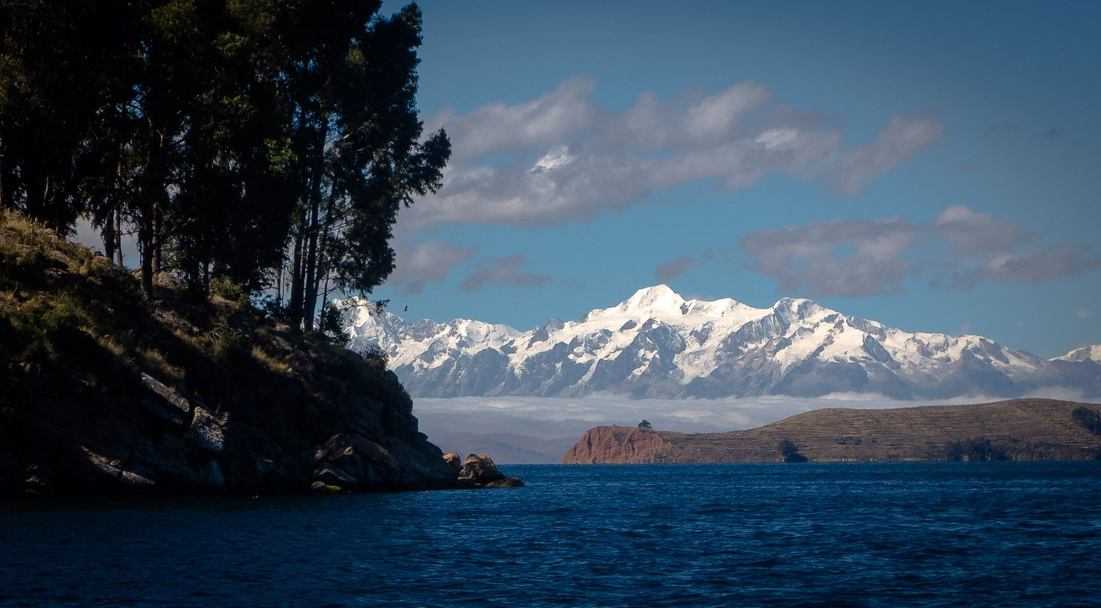 Lake Titicaca from the Bolivian side
