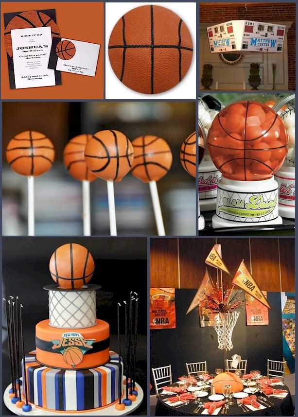 Basketball favor ideas hoop it up with a basketball for Basketball craft party ideas