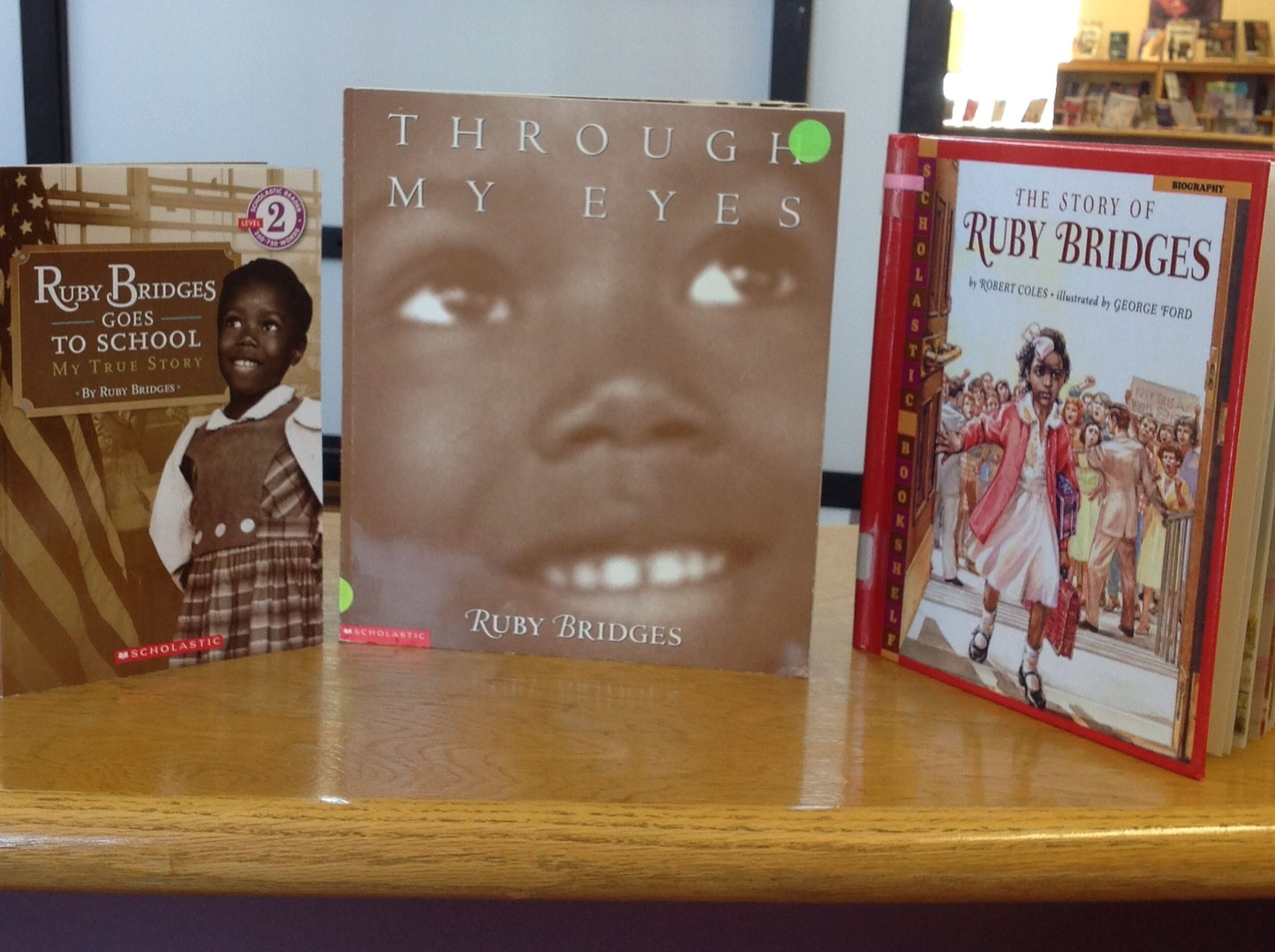 Through My Eyes By Ruby Bridges As Mentor Text My