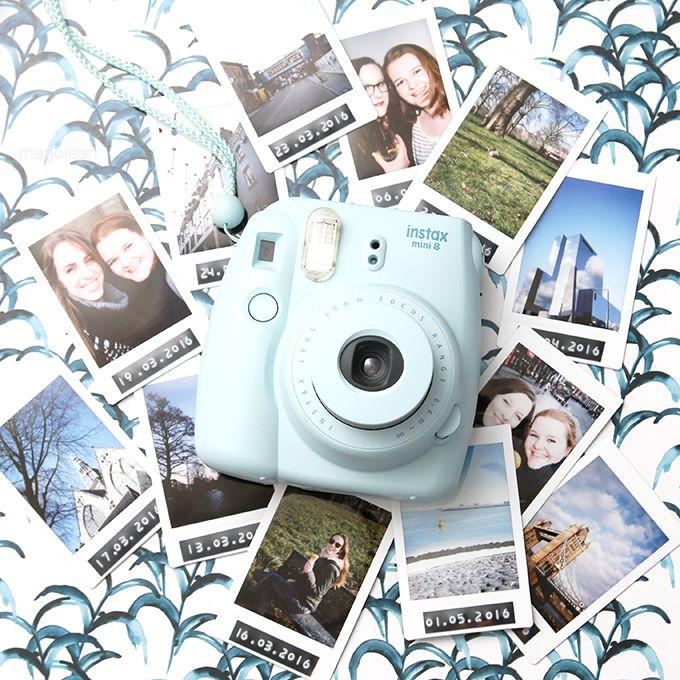 Zo n 3 maanden geleden kocht ik een fujifilm instax mini 8 en inmiddels kan ik wel zeggen dat - Beste polaroid kamera ...