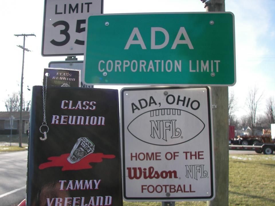 Ada, Ohio United States Home of the Wilson Football