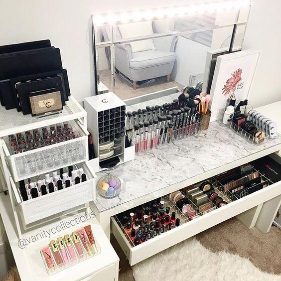 Follow Me To Beauty Ashley Kalon Found Kalonfound Com Beauty Room Makeup Beauty Room Vanity Room