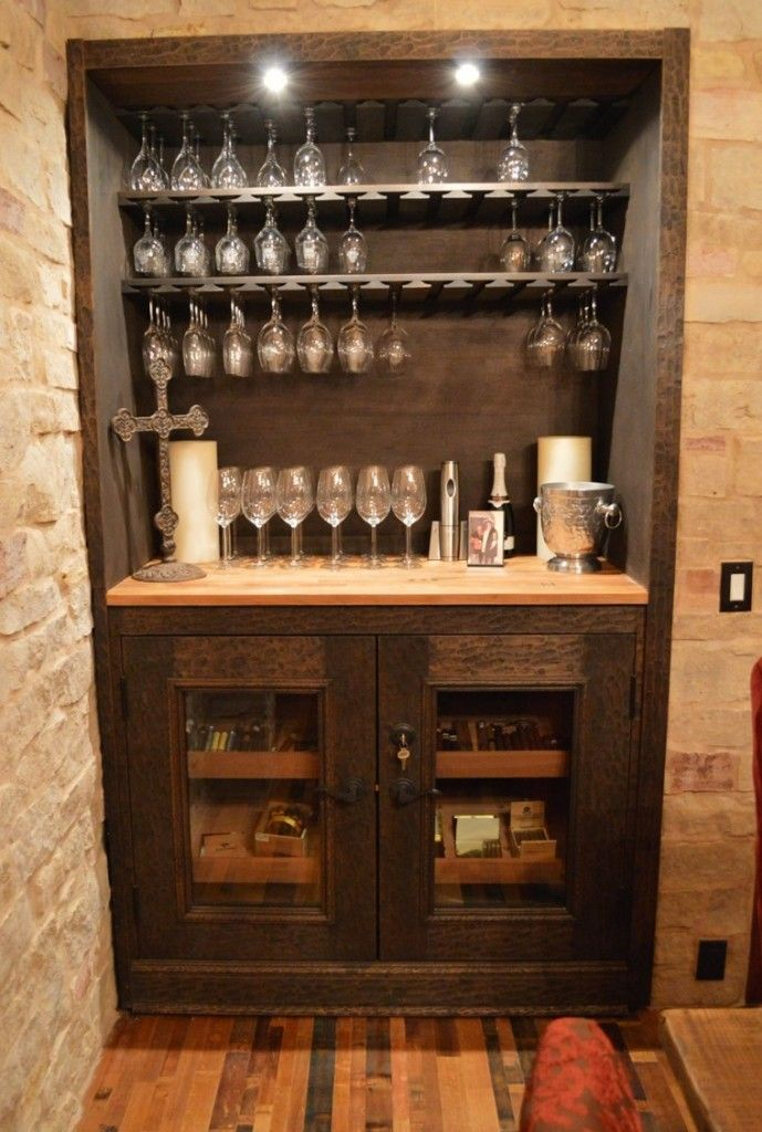 The Wine Tasting Room Includes A Gl Display Rack And Humidor This Cellar Is Actually One Of Most Interesting Projects We Did For
