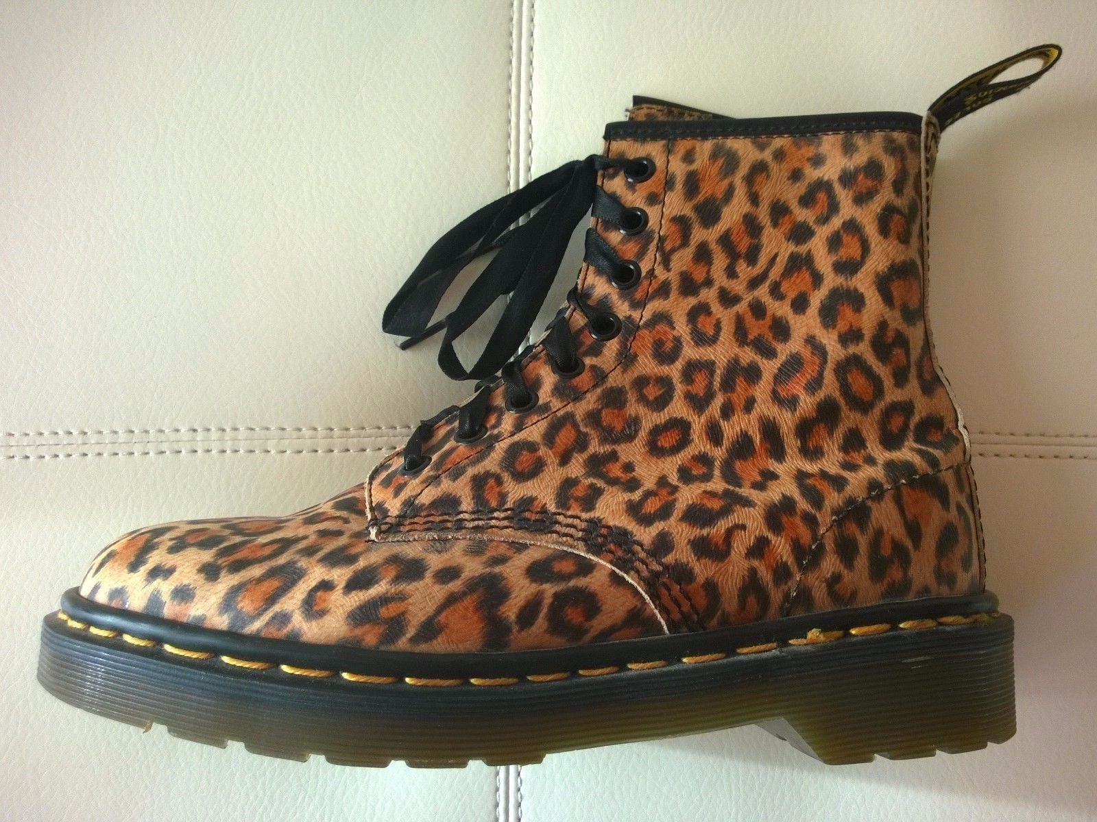 dr martens leopard boots