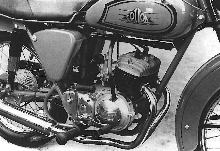 1955 Cotton Cotanza With The 250cc British Anzani Twin Two Stroke Engine
